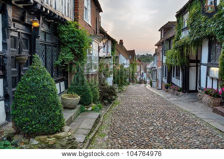 Beautiful Cobblestone Street