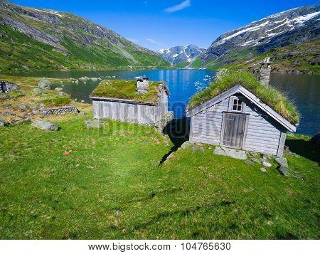 Old Norwegian Huts