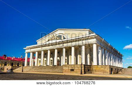 Old Saint Petersburg Stock Exchange Building - Russia