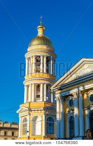 Our Lady Of Vladimir Church In Saint Petersburg - Russia