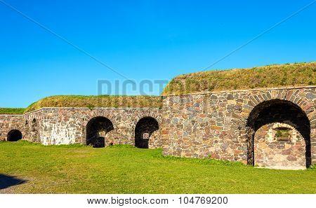 Fortifications In Suomenlinna Fortress - Helsinki