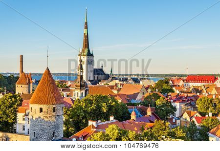The Historic Centre Of Tallinn, A Unesco Heritage Site In Estonia