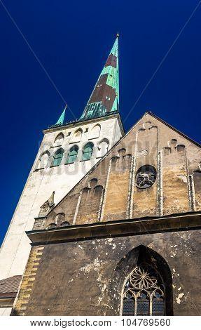 St. Olaf Church In Tallinn - Estonia