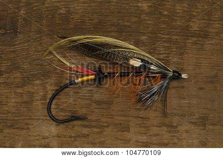 Thunder And Lightning Salmon Fly