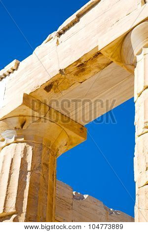 In Greece The Old Architecture   Parthenon