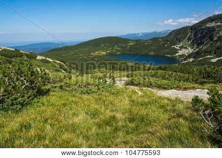The Lower Lake, The Seven Rila Lakes, Rila Mountain