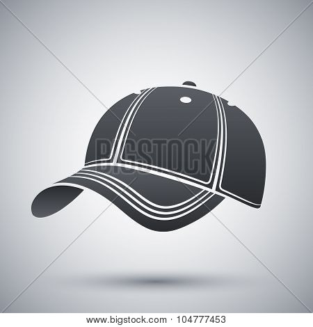 Vector Baseball Cap Icon