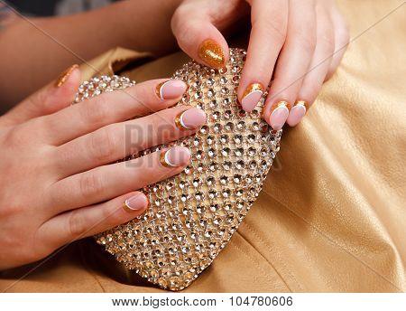 Elegant Nails With Gel Polish