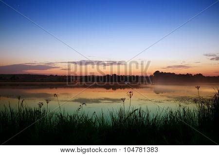 Good morning on the lake