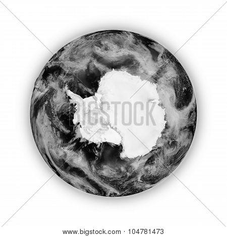 Antarctica On Dark Planet Earth