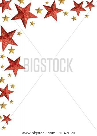 Christmas Stars Ply - Isolated Stars