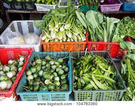 Phangan local market