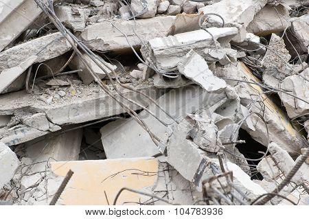 Concrete Building Ruins