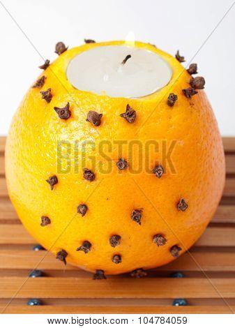 Orange Candlestick