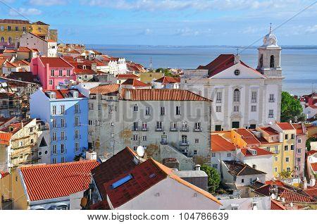 Sunny Day In Alfama, Lisbon