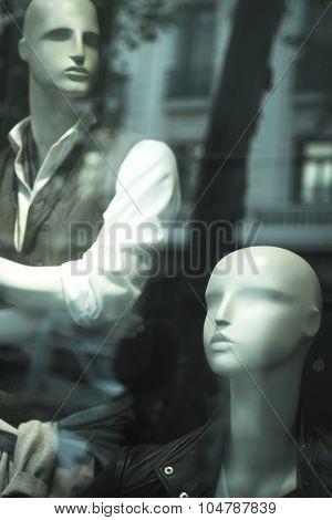 Shop Dummy Fashion Store Clothes Mannequin