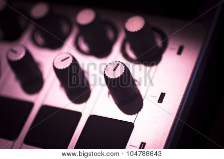 Dj Console Mixing Desk Ibiza House Music Party Nightclub