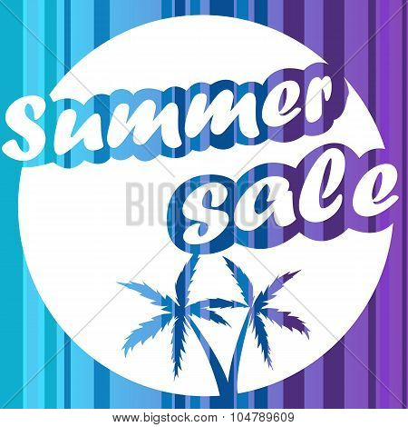 Summer Sale vector design template for your business.