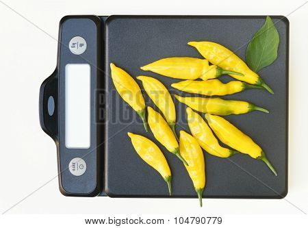 Scale with Hot Lemon Peppers