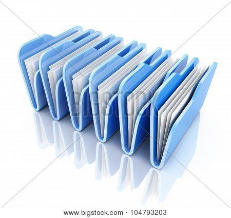 Row Blue File
