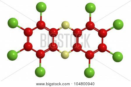 Molecular Structure Of Dioxine
