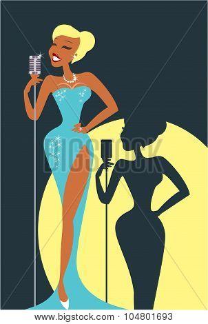 Sexy Cabaret Singer