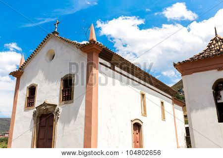 Chapel of Padre Faria in Ouro Preto, Minas Gerais, Brazil