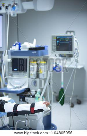 Traumatology Orthopedic Surgery Hospital Immobilized Arm