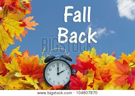 Fall Time Change