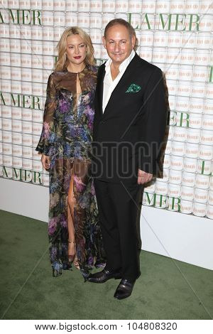 LOS ANGELES - OCT 13:  Kate Hudson, John Demsey at the La Mer Celebration Of An Icon Global Event at the Siren Studios on October 13, 2015 in Los Angeles, CA