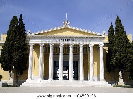 zappeion megaron hall of Greece
