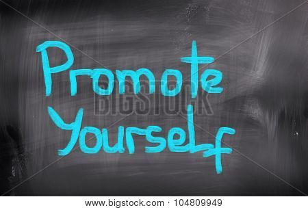 Promote Yourself Concept