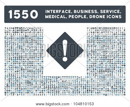 Error Icon and More Interface, Business, Tools, People, Medical, Awards Flat Vector Icons