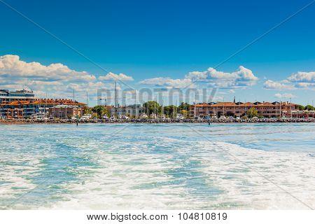 View Of Grado (gorizia), Friuli Venezia Giulia, Italy