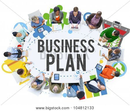 Business Plan Planning Mission Guidelines Concept