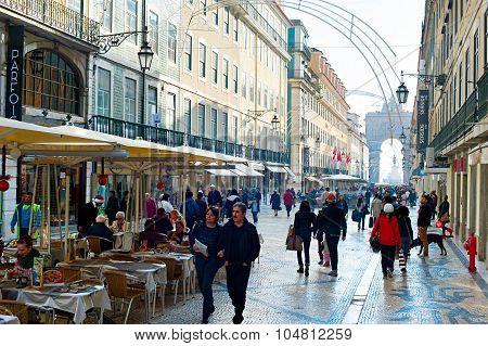Rua Augusta Street, Lisbon