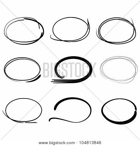 sketch circles