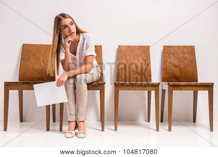 Waiting Job Interview