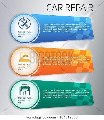 Service-car-repair-button-horizontal-banner