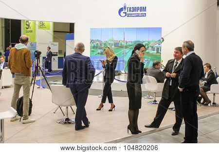 Businessmen And Businesswomen In The Sector Rest On The Forum.