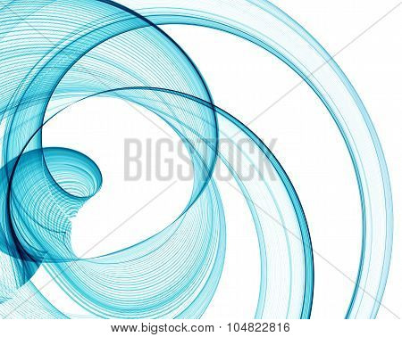 Color abstract lines. Vector illustration
