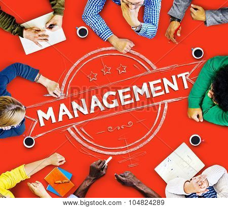 Management Manager Trainer Director Role Model Concept