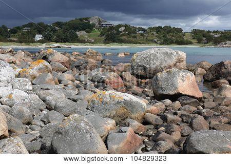 Norwegian coast near Bergen