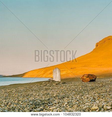 Desolate, haunting garve Arctic