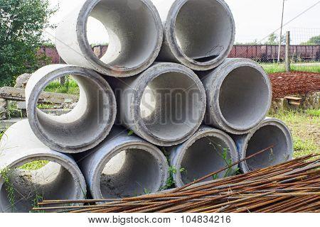 Concrete Round Tubes