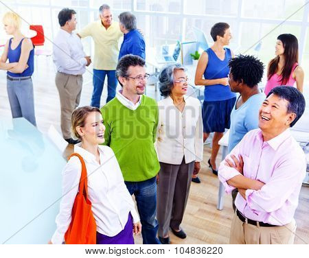 Group of Business People in the Office Concept
