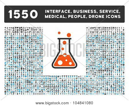Boiling Liquid Icon and More Interface, Business, Medical, People, Awards Vector Symbols