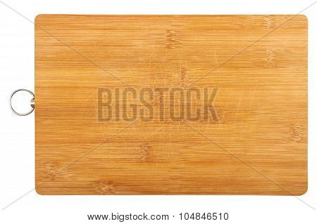 Old Used Cutting Wooden Board