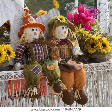 Autumn Garden Decorations