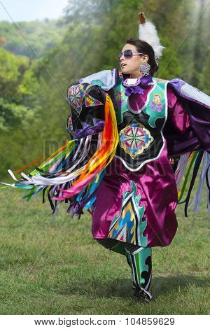 Native American Dancer Girl